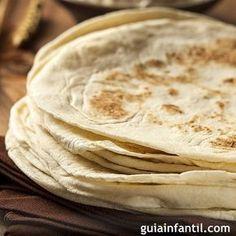 Masa para wraps, burritos y fajitas. En Guiainfantil.com hemos elaborado una receta que a los niños les encantará. Cómo hacer tortillas o tortitas para wraps, paso a paso, y de una forma fácil y sencilla.