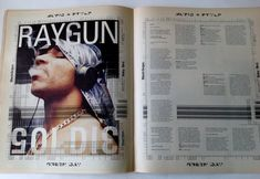 Raygun Magazine Issue 53 - Goldie, Green Day, Black Grape - Very Rare Black Grapes, T Baby, Green Day, Conditioner, Branding, Messages, Magazine, Graphic Design, Books