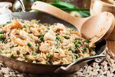 Cinco recetas al wok que te sorprenderán por deliciosas y fáciles - Página 2 Mexican Spice Mix, Arroz Frito, Chicken Quesadillas, Spice Mixes, Shredded Chicken, Fried Rice, Shrimp, Yummy Food, Stuffed Peppers