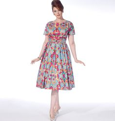 McCall's Misses'/Women's Dresses 7086