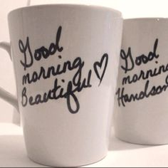I want these!  Wouldn't that be a great way to have your morning coffe.