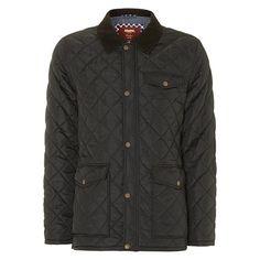 Стеганая куртка с вельветовым воротником Merc где купить в Самаре