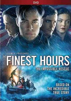 """Disney have announced that """"The Finest Hours"""", Starring Chris Pine, Casey Affleck, Ben Foster and Eric Bana, will be released on in-home [. Great Movies, New Movies, Disney Movies, Movies To Watch, Movies Online, Movies And Tv Shows, Awesome Movies, Movies Free, Pixar Movies"""