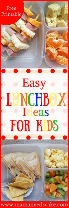Easy Lunchbox Ideas for Kids Back to school means back to packing lunches. If you're like me, I pack lunches everyday! Not only does it save money but it also gives me the ease of mind that my daughter is eating her lunch! Packing lunch can be repetitive and can really begin feeling like a …