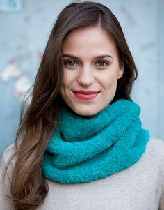 Heft extra 1 Herbst / Winter | 157: Damen Rundschal | Smaragdgrün