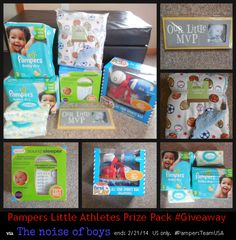 Celebrating Little Athletes with Pampers- Game Face Sweepstakes PLUS #GIVEAWAY (ad) - The noise of boys