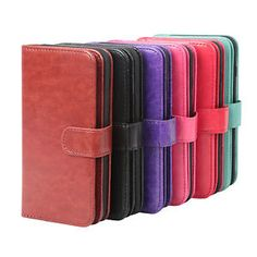 Synthetic Leather Dual-Folio Card Pocket Wallet Case for Apple iPhone 6 /6s  $8.09  $19.99  (300 Available) End Date: Aug 102016 07:59 AM GMT-07:00