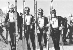 Karl Cordin, Rudi Sailer, Karl Schranz and Heinrich Messner season. World Cup Skiing, Ski Racing, Alpine Skiing, Vintage Ski, Ski And Snowboard, Old School, Couch, Retro, Sports