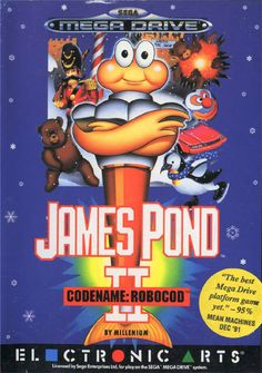 Games van Vroeger - James Pond 2: Codename Robocod, Sega Megadrive x loved this game ♡