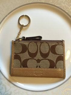 GONE! Authentic coach mini ID wallet / coin purse. EEUC!