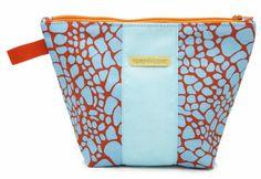 New Product: #tipsyskipper cosmetic bags! #madeinUSA #orange #aqua