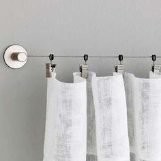 Great Find This Pin And More On Drapery Hanging Ideas By Wisclife. Hanging  Curtains From Wire.