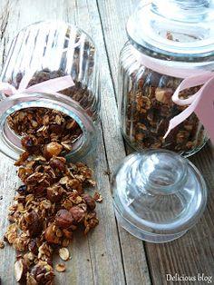 Delicious blog: Perníková granola Granola, Delicious Blog, Korn, Muesli