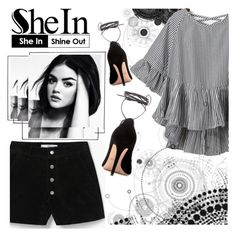 """""""shine out"""" by alehrs ❤ liked on Polyvore featuring MANGO and Valentino"""