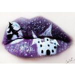 Beautifully Creepy Halloween Lip Makeup Ideas By Eva Pernas
