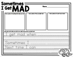 "Back to school activity that goes along with the book ""How do Dinosaurs Say I'm Mad?"""
