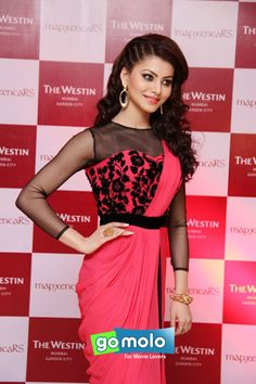 Urvashi Rautela at Riddhi Siddhi's cocktail bash in Mumbai