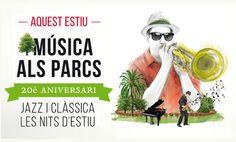 Música als parcs celebra el 20è Aniversari. Juny-agost 2015