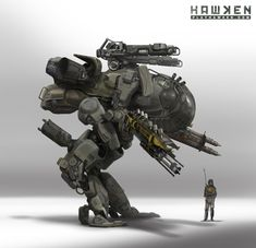 "Concept Design Academy: ""Art of Hawken: Mech Design"""