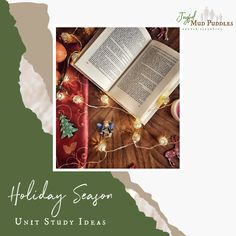 Joyful Mud Puddles: Holiday Season Unit Study Ideas Christmas Crackers, Christmas Cookies, Candy Cane Game, The Nativity Story, Study Ideas, Light Of The World, Paper Stars, All Holidays, Christmas Games