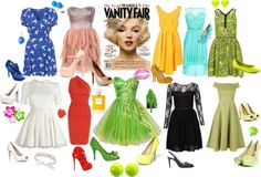 """Marilyn"" by sinerrgia on Polyvore"