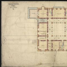 Left portion of floor plan.