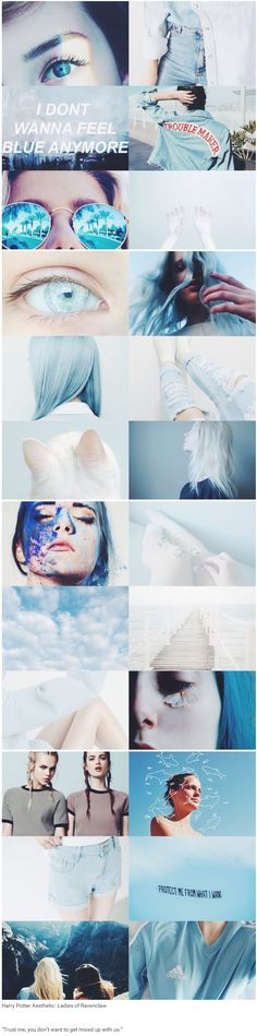 """foundinghouses: Harry Potter Aesthetic: Ladies of Ravenclaw   """"Trust me, you don't want to get mixed up with us."""""""
