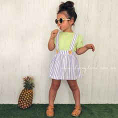 Summer Bottoms: Monroe Suspender Skirts