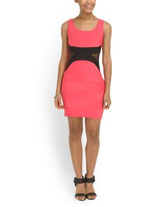Juniors Bodycon Dress @tjmaxx