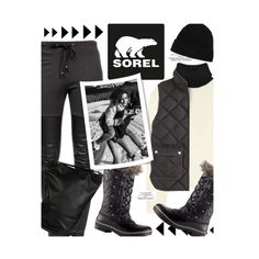 """Introducing the 2015 Winter Collection from SOREL: Contest Entry"" by honii ❤ liked on Polyvore featuring Acne Studios, SOREL, Minnie Rose, J.Crew, Ragdoll, Andrea Incontri, contestentry and sorelstyle"