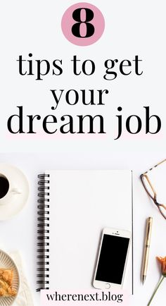 Get all the tips you need on how to get that dream job and pursue a life you love. Whether it's wanting to go freelance or get a job at your dream company. These tips will help you get there!