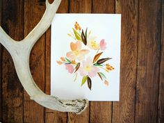 Peach Blossoms Fine Art Print 8x10 by ginably on Etsy, $16.00