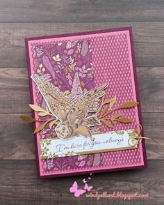 Mary Fish, Stampin Pretty, Owl Card, Friends Are Like, Bird Cards, Fall Cards, Card Making Inspiration, Pretty Cards, Paper Pumpkin