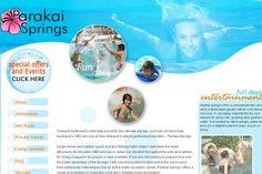 Parakai Springs- Innovative Web Development
