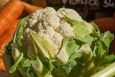 Vegetables, Cauliflower, Market