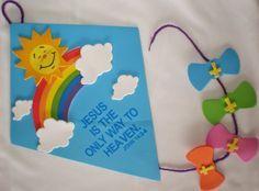 Petersham Bible Book & Tract Depot: Inspirational Kite Sign Craft Kit
