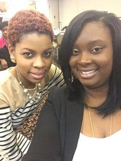 Shonta and I