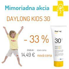 Daylong Kids SPF 30 - mlieko na opaľovanie pre deti Personal Care, Kids, Children, Self Care, Boys, Personal Hygiene, Children's Comics, Boy Babies, Kid