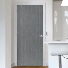 J B Kind Painted Pintado Slate Grey Flush Fire Door 1 2 Hour Fire Rated Prefinished Flush Doors Grey Interior Doors Fire Doors