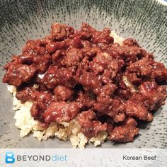 Korean Beef – This d