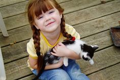 pigtails and kitty