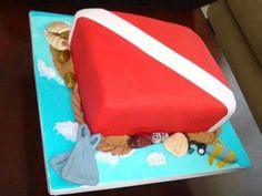Diver down cake! I love this!