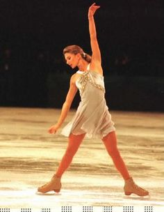 The Ice Angel - Four-time Ladies National Figure Skating Champion and 1987 Ladies World Figure Skating bronze medalist, Caryn Kadavy (USA)