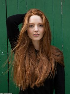 He wanted to respond to bullies by taking photographs of redheads in a 'beautiful, non-sexualised way'. This photo shows Ellie, from London
