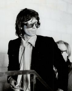 """Keith Richards on personal style. On growing older gracefully: - """"Some things get better with age. Like me."""""""