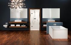 Matki And Swadling's Stylish New Bathroom Brassware - UK Home Ideas Uk Homes, White Ceramics, Contemporary Design, Interior Decorating, Design Inspiration, Mirror, Stylish, Furniture, Bathroom Showers