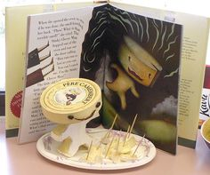 Stinky Cheese Man by SBCC Luria Library, via Flickr