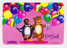 Lisa Frank stickers! We had awesome sticker collections!