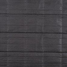 Black Perforated Quilting