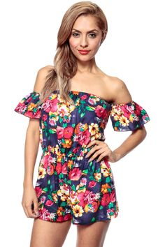 Buy Ethnic Florals Off Shoulder Romper with discount price and high quality from Cicihot Sexy dresses online store which offers Clothing,Sexy Clubwear Romper Suit, Lace Romper, Ball Dresses, Sexy Dresses, Off Shoulder Romper, Shoulder Cut, Dresses For Teens, Summer Dresses, Plus Size Romper